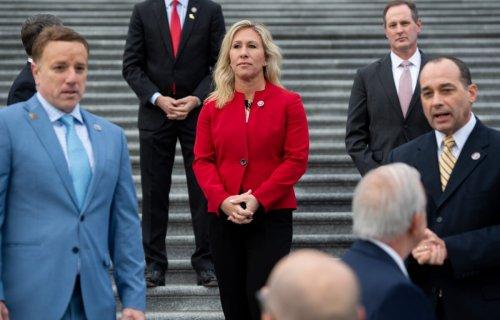 Rep. Marjorie Taylor Greene Suing Speaker Pelosi Over Mask Fines