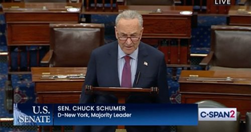 'How Despicable is Donald Trump?' Schumer Tears Into Former President During Fiery Senate Floor Remarks on Voting Rights