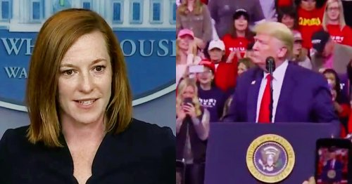 WATCH: Jen Psaki Has Bad News for Trump and Anyone He Talked To Who Want to Evade Jan. 6 Commission