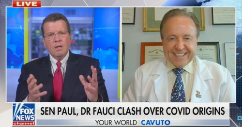 Fox's Cavuto Defends 'Good Man' Fauci After Clash With Rand Paul: 'Vilified to the Point You'd Think He Was Lex Luthor'