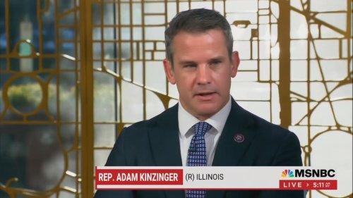 Adam Kinzinger Derides Tucker Carlson's Capitol Riot' Conspiracy: Trump's Legacy of 'Outright Lies'