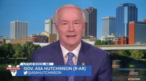 GOP Gov. Asa Hutchinson Bashes Trump After Cheney Exile: 'We Should Not' Make Him 'The Leader of Our Party'