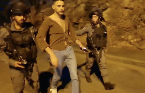 Watch: Sheikh Jarrah Resident Who Appeared on CNN, MSNBC Kicked Out of Neighborhood by Israeli Forces