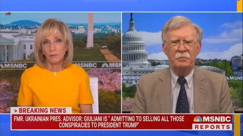 'I Was Not Aware of What Rudy Was Doing': Former Trump Adviser John Bolton Condemns Giuliani's Ukraine Call