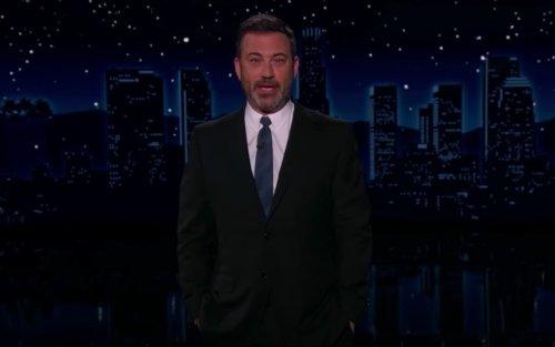 Jimmy Kimmel Mocks 'Sweaty Teddy' Cruz's Trump Photo: 'Where They Seat You at a Wedding in Hell'