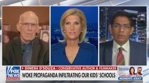 Dinesh D'Souza Asks Where White Privilege Is, Then Answers His Own Question Seconds Later