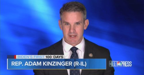Adam Kinzinger Blasts 'America First' Caucus as 'White Supremacy Caucus'