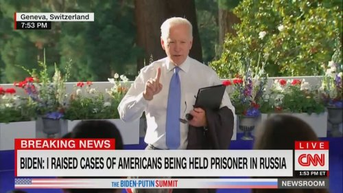 Biden GOES OFF on CNN's Kaitlan Collins in Combative End to Presser, Suggests She May Be 'In the Wrong Business'
