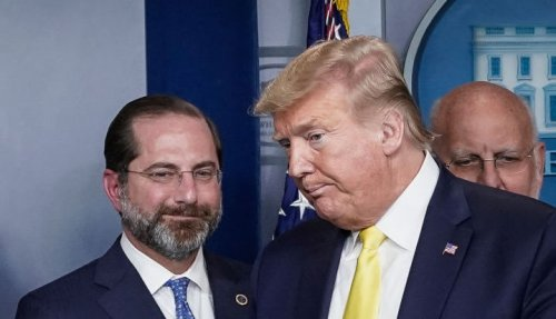 Trump Called Out By His Former HHS Secretary Alex Azar For Not Getting Vaccinated on TV