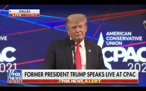 Trump Has Shocking Moment of Honesty During CPAC Speech, Says If Straw Poll Is Only Accurate If It's Good For Him; If It's Bad, He'll 'Just Say It's Fake'