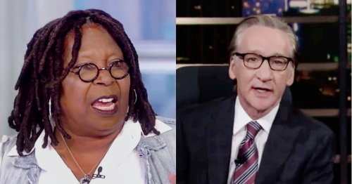 Bill Maher Lectures Whoopi Goldberg on Black National Anthem, Compares Her to 'Chairman Mao'