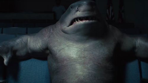 The Suicide Squad's King Shark Was Lot of Work to Bring to Life for James Gunn