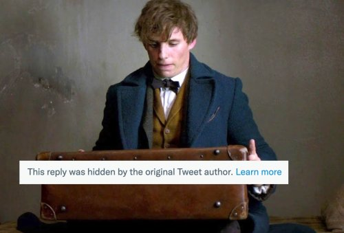 Things We Saw Today: The Fantastic Beasts Twitter Account Sure Is Having a Time Hiding All Those Replies