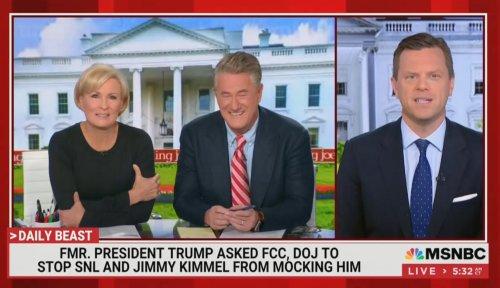Joe Scarborough Ridicules Trump Denial of DOJ Stopping SNL