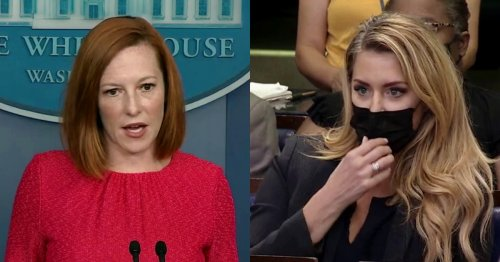 'I Think We Have To Move On': Jen Psaki Shuts Down Newsmax Reporter in Tense Exchange on Covid Therapy