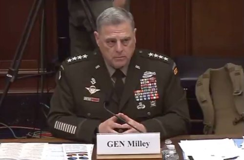 WATCH: Joint Chiefs of Staff General Mark Milley Fiercely Defends Teaching Critical Race Theory