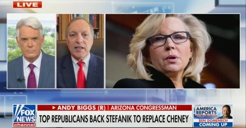 Andy Biggs: Liz Cheney Was Attacking the GOP Base