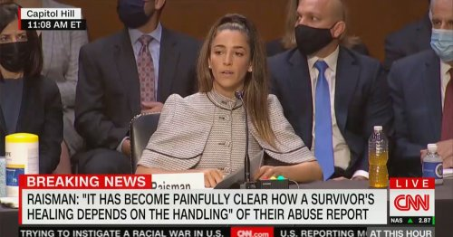 Aly Raisman Excoriates FBI for Failures in Larry Nassar Case: They Knew He Molested Children 'And Did Nothing'