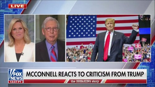 Hours After Trump Called For His Ouster as GOP Leader, Mitch McConnell Says He Would Support Him in 2024