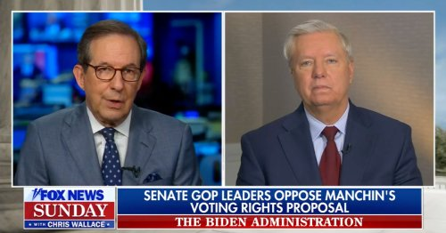 Chris Wallace Presses Lindsey Graham on Opposing Manchin Voting Rights Proposal: Do You Run Risk He'll Eventually Say 'Bipartisanship Isn't Working'?