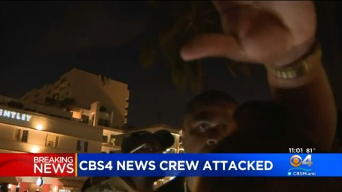 WATCH: News Crew Attacked During Attempt to Cover Unrest in South Beach