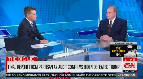 Fired Fox Editor Who Called Arizona for Biden Tells Jim Acosta He Feels No 'Vindication' in the Election Audit Results: 'They're Doing Their Damage Anyway'