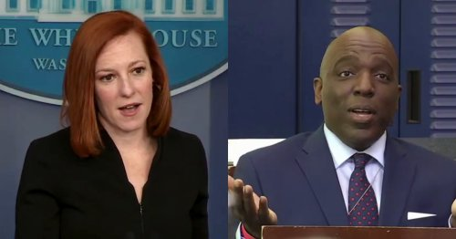 WATCH: Jen Psaki Badgers Reporter Into Telling Her Which 'Critics' Are Demanding Border Visit