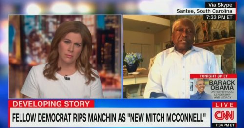 'This Democracy Is On Fire': James Clyburn Goes In on Joe Manchin for Opposing Voting Rights Bill, Defending Filibuster
