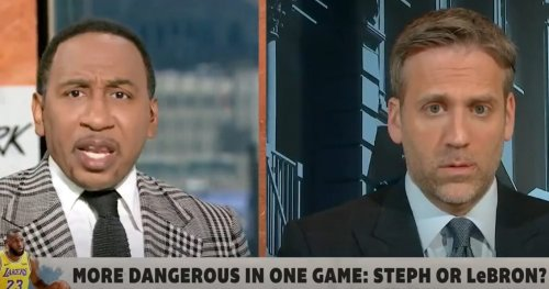 'Stop Treating Him Like He's Some Choke Artist!': Stephen A. Smith Boldly Picks Steph Curry Over LeBron James In Fiery Debate With Max Kellerman