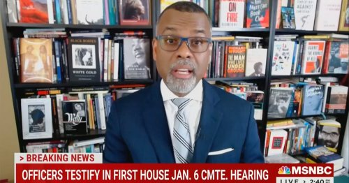 MSNBC Contributor Eddie Glaude Goes On a Tear Over 1/6 After Hearing: There's 'A White Mob Arguing for a White Nation'