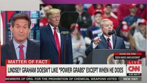 'It's Raining Power Grabs, Hallelujah!' CNN's Berman Exposes Lindsey Graham's Hypocrisy In Damning Supercut