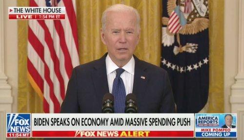 Biden: No Evidence Unemployment Benefits Discouraging Work