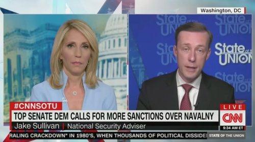 CNN's Dana Bash Grills NatSec Adviser Jake Sullivan on Biden-Putin Summit: 'Why Are You Giving In to Russia' on Pipeline?
