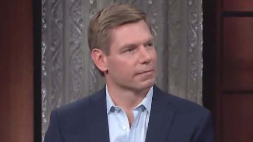 Eric Swalwell Confronts Marjorie Taylor Greene Aide Nick Dyer