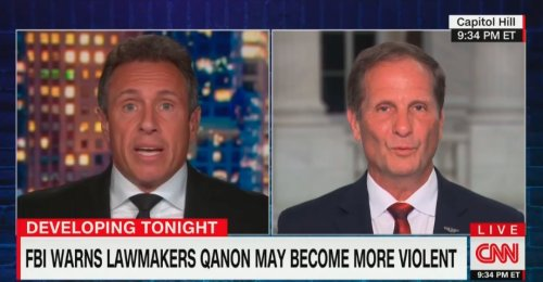 Chris Cuomo Gets in Tense Clash With GOP Rep. About QAnon: 'You Put Both Arms Around Marjorie Taylor Greene'