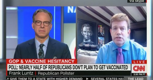 Pollster Frank Luntz Says 'We Could Save Thousands of Lives' If Biden and Trump Would Give Each Other Credit on Vaccines