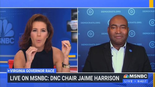 MSNBC's Stephanie Ruhle Confronts DNC Chairman: Why Does it Seem Like 'Democrats Continue to Just Be Running Against Trump?'