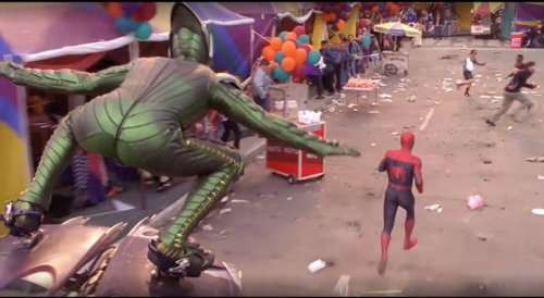 Things We Saw Today: So the Green Goblin Is in Times Square …