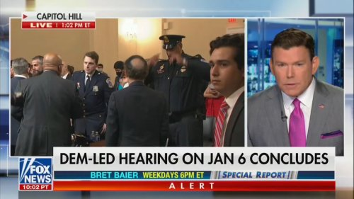 Bret Baier Calls Out Republicans Downplaying Riot: 'You Cannot Watch This Testimony and Say That Is Not a Big Deal'
