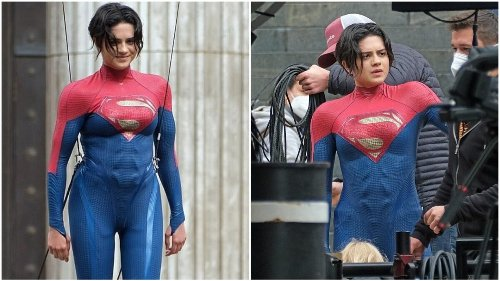 Things We Saw Today: Here's Your First Look at Sasha Calle as Supergirl