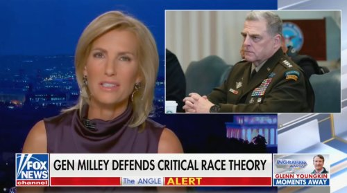 Laura Ingraham Goes Off on Gen. Milley for 'Teaching Far-Left Marxist Racist Ideology' and Suggests Withholding Military Funding