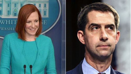 WATCH: Jen Psaki Gleefully Picks Apart Tom Cotton Proposal Targeting 'Un-American' Ideas Like Critical Race Theory and 1619 Project