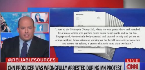 CNN Producer Reportedly Was Asked 'Do You Speak English' After Being Thrown to the Ground, Arrested While Covering MN Protests