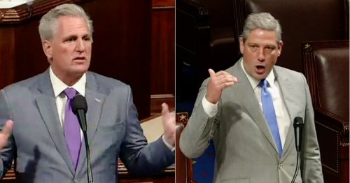 WATCH: Kevin McCarthy's 'Appalling' Rant on New Mask Rules Eviscerated by Tim Ryan in Fiery Floor Speech