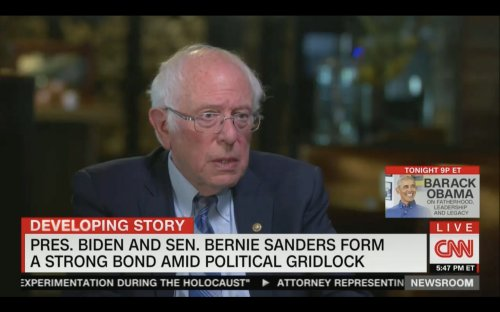 Bernie Sanders: Biden Campaign Made Me Feel 'Very Welcome,' In Contrast to Clinton, Who 'Wanted My Support,' And 'Tolerated' Me