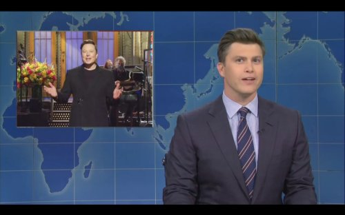 SNL's Weekend Update Explains Why Elon Musk Is Hosting: 'He Needed An Alibi' With A Rocket Crashing to Earth