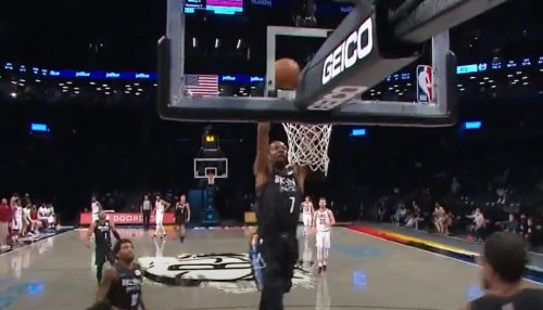 'PLAY OF THE YEAR!' Brooklyn Nets Set NBA Twitter Ablaze With Jawdropping Bit of Razzle Dazzle