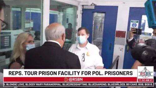 Louie Gohmert, Matt Gaetz Accused of Trespassing for Trying to Enter DC Jail