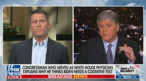 Fox News Contributor Calls For Ronny Jackson to Take a Drug Test After Appearance on Hannity
