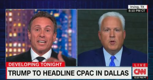 'I'm Not Welcome at CNN!' 'You're on CNN Right Now, Brother!' Matt Schlapp, Chris Cuomo Throw Down in Wild Segment
